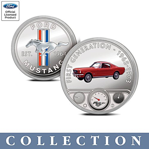 The Official Ford Mustang Proof Commemorative Collection