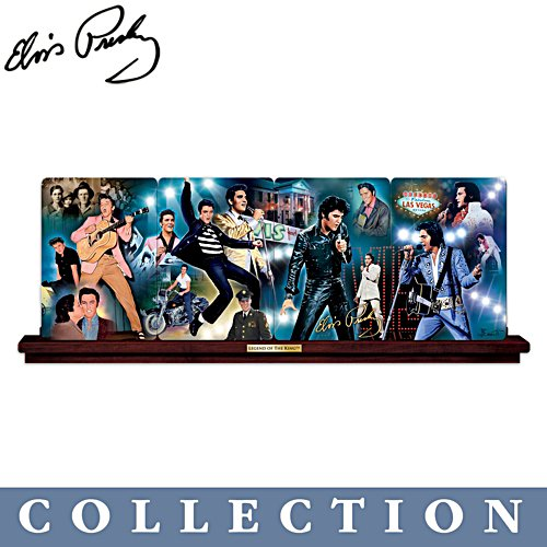 'Legend Of The King™: Elvis Presley™' Panorama Plate Collection