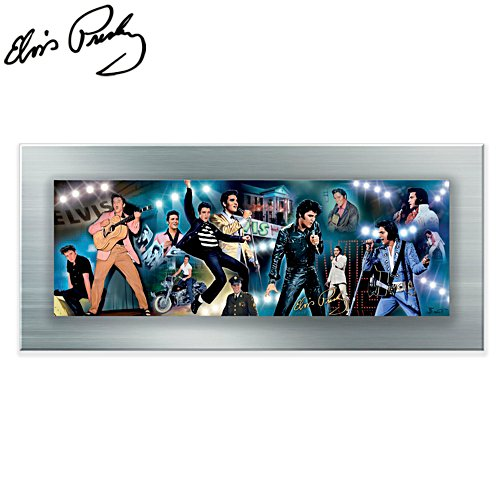 King of Rock 'n' Roll™ Gallery Editions Panorama Print