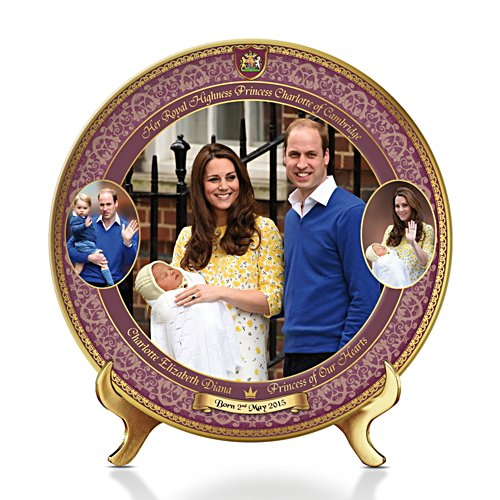 'Charlotte, Princess Of Our Hearts' Commemorative Plate