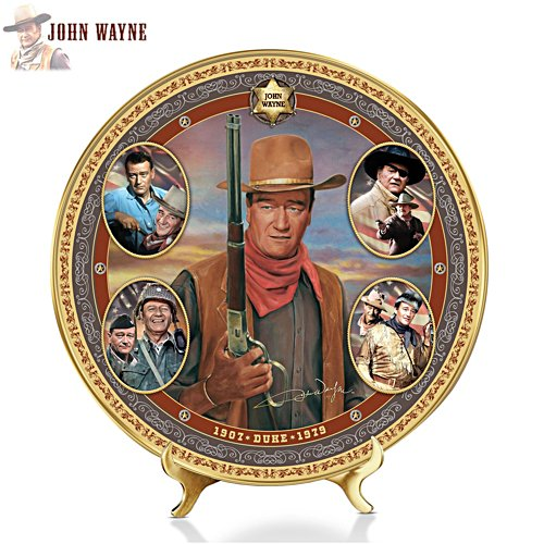 'John Wayne Celebration Gallery Edition Plate'