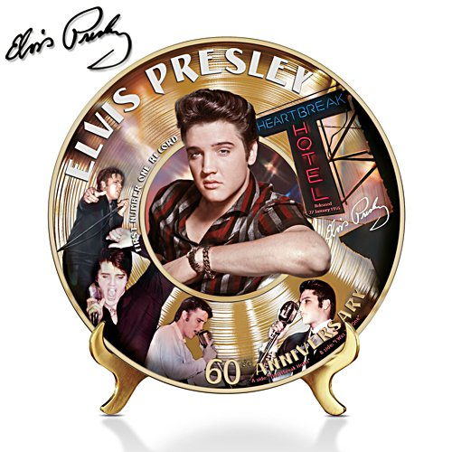 Elvis™ 60th Anniversary Number #1 Hits Plate