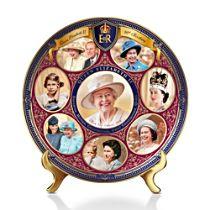 Queen Elizabeth II 90th Birthday Plate