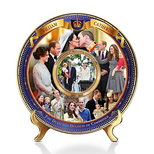 The Royal Wedding Anniversary Commemorative Plate