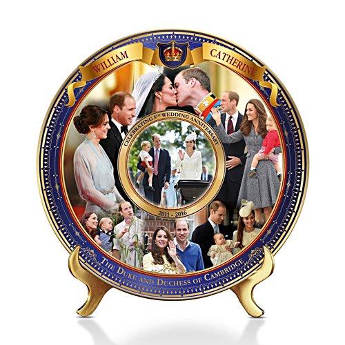 The Royal Wedding Anniversary Commemorative Plate