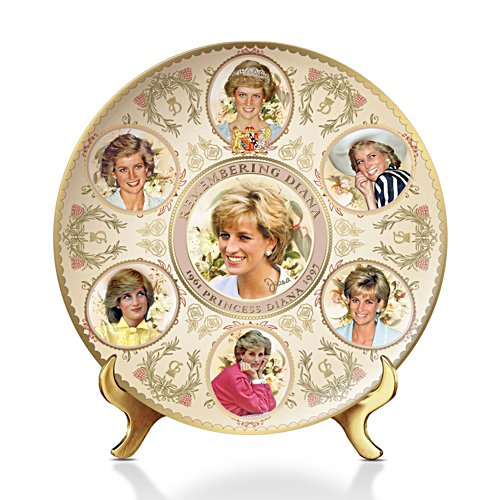 'Celebrating Princess Diana' Commemorative Plate