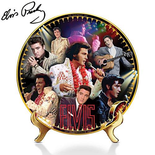 Elvis Presley™ 40th Anniversary Plate