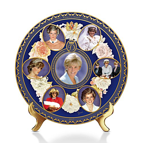 Princess Diana 20th Anniversary Commemorative Gallery Edition Plate