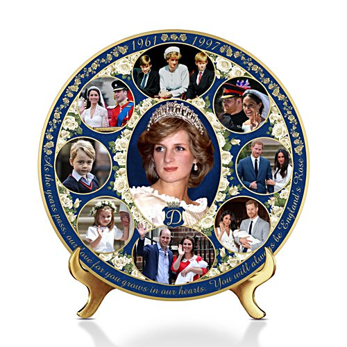 Princess Diana Legacy Gallery Editions Plate