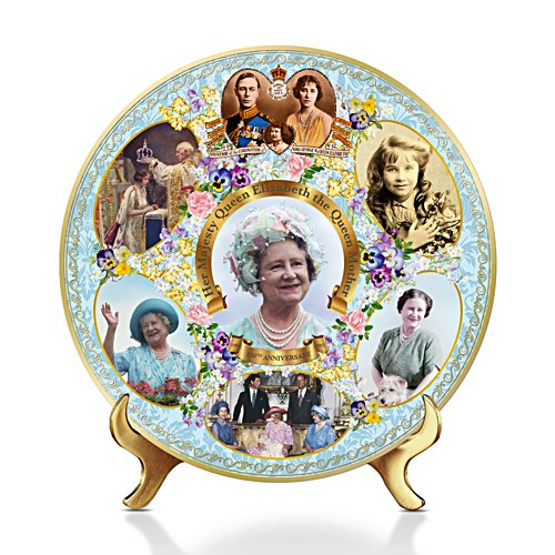 '120th Anniversary Birth Of Elizabeth The Queen Mother' Gallery Editions Plate