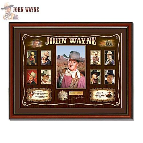 'John Wayne Western Limited Edition Print'