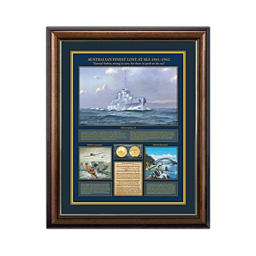'Australia's Finest Lost At Sea 1941-1942' Gallery Editions Print