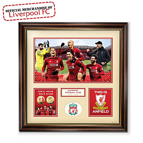 'Liverpool FC 2018/2019' Limited Edition Print
