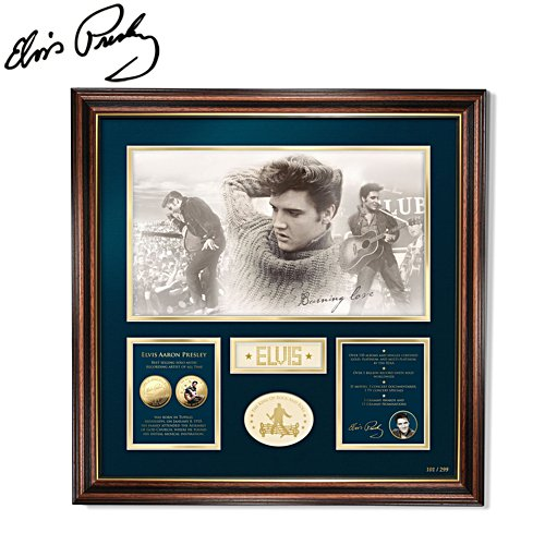 Elvis Presley™ 'King of Rock 'n' Roll™' Limited Edition Print