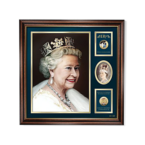 'A Royal Portrait Of Queen Elizabeth ll' Limited Edition Print