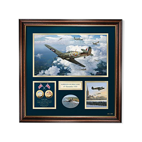 'In Defence Of The Realm' Hawker Hurricane 85th Anniversary Print