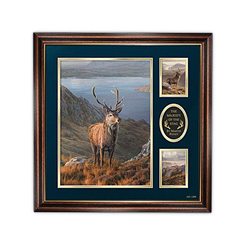 'Majesty Of The Stag' Martin Ridley Limited Edition Print