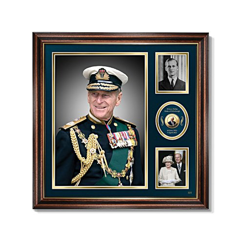 HRH Prince Philip Commemorative Print
