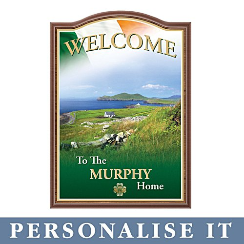 'Forever Ireland' Personalised Welcome Sign
