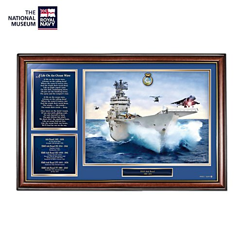 'HMS Ark Royal Limited Edition Commemorative Print'