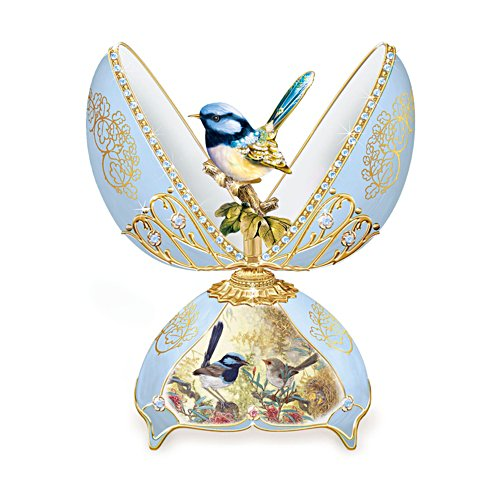 'Glittering Fairy Wren' Musical Egg