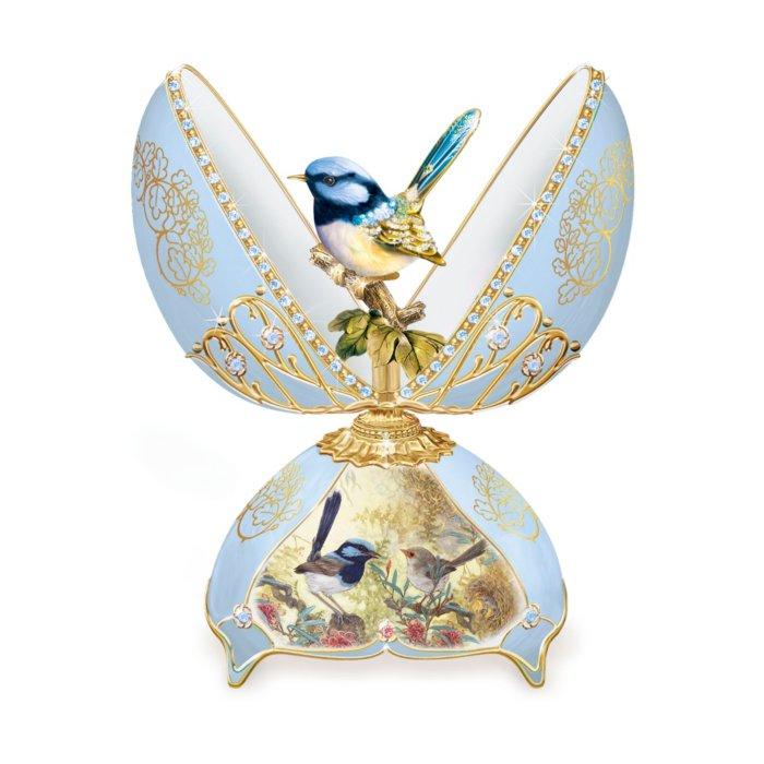 'Glittering Fairy Wren' Musical Egg