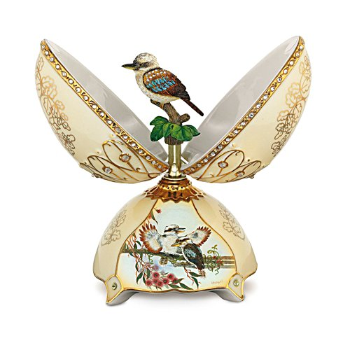 'King Of The Bush' Heirloom Porcelain® Music Box