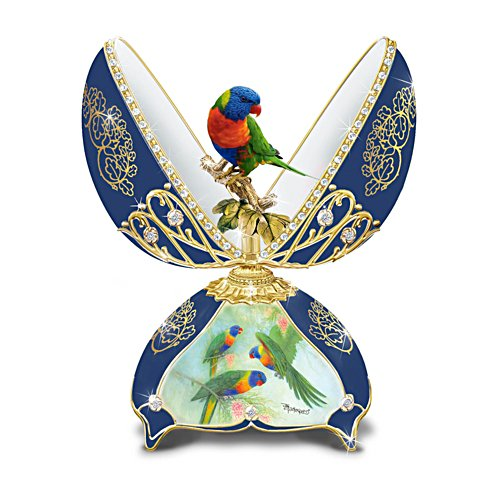 'Rainbow Lorikeet' Music Box