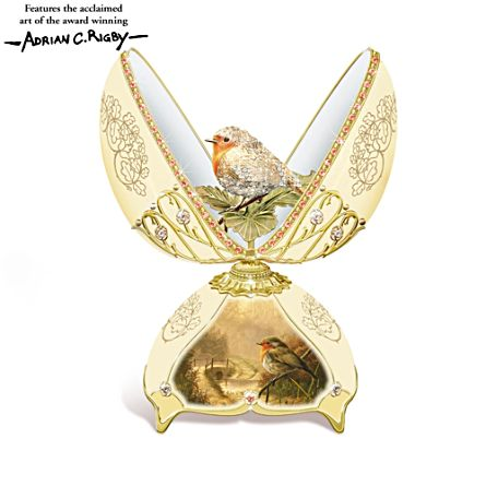 'Jewel Of Nature' Robin Musical Egg