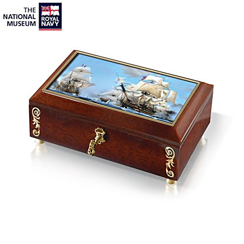 'HMS Victory At Trafalgar' Keepsake Box