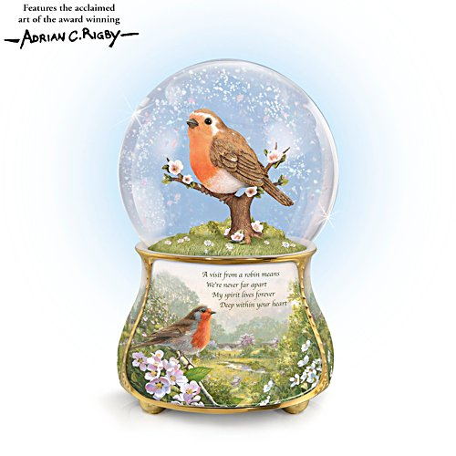 'Messenger From Heaven' Glitter Globe