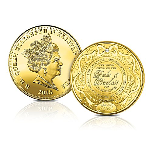 The HRH Prince Louis Five Crowns Coin