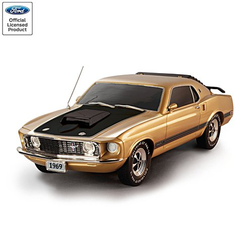 1:12 Ford Mustang Mach I Legendary Gold Edition