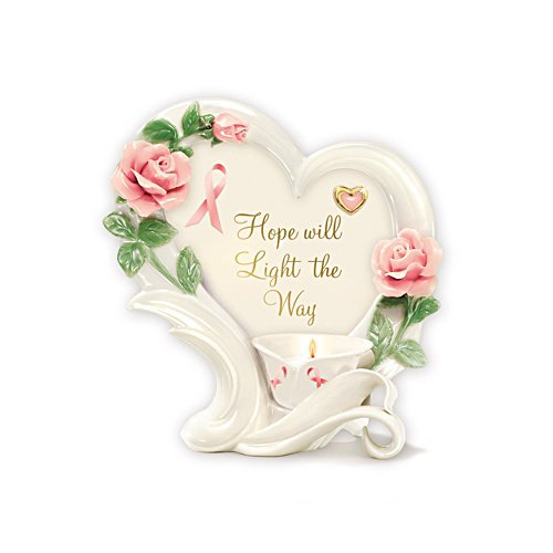 'Rose Of Hope' Candleholder