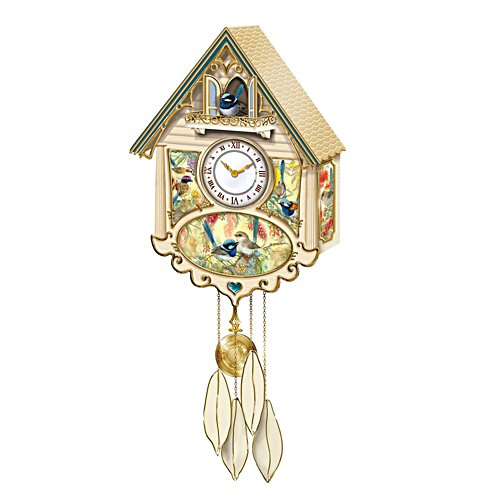 Fairy Wren Wall Clock