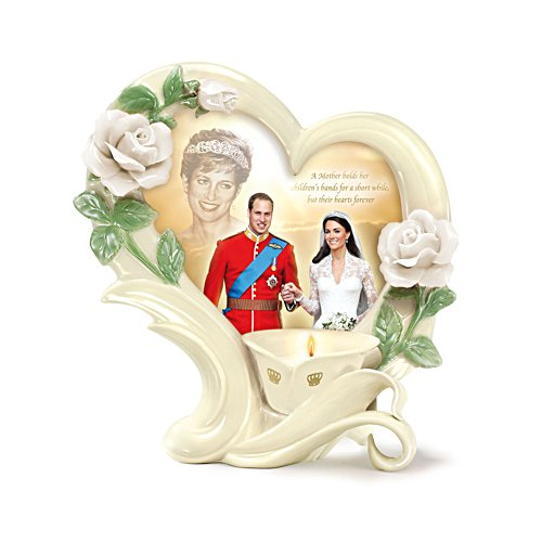 'Princess Diana, A Mother's Love' Candleholder