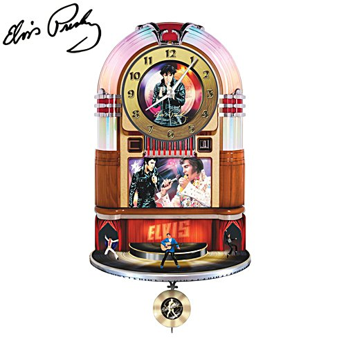 'The Elvis™ Rock 'n' Roll Clock'