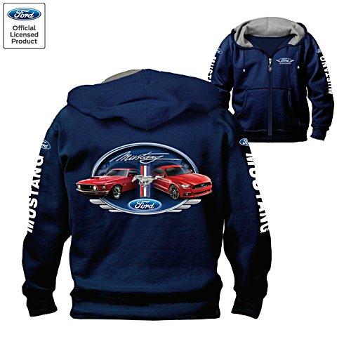 Ford Mustang Generations Men's Hoodie