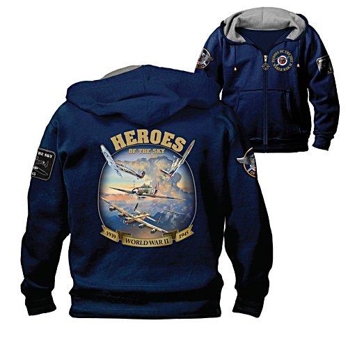 'Heroes Of The Sky' Men's Hoodie