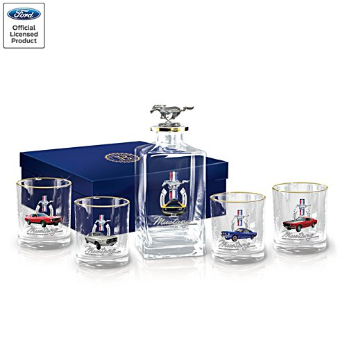 Official Ford Mustang Decanter Set