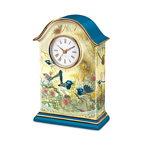 'Fairy Wren' Mantel Clock