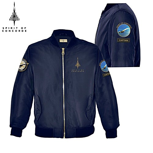 'Spirit Of Concorde' Men's Flight Jacket