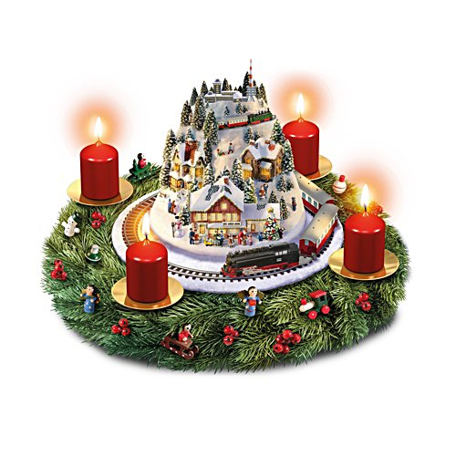 'Winter Magic' Brockenbahn Evergreen Advent Wreath
