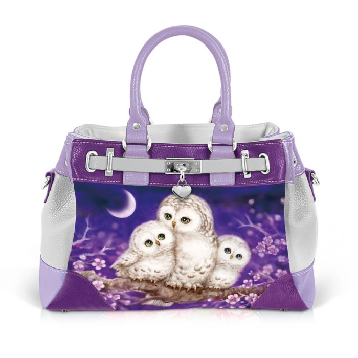 Guardian Of The Night Owl Handbag