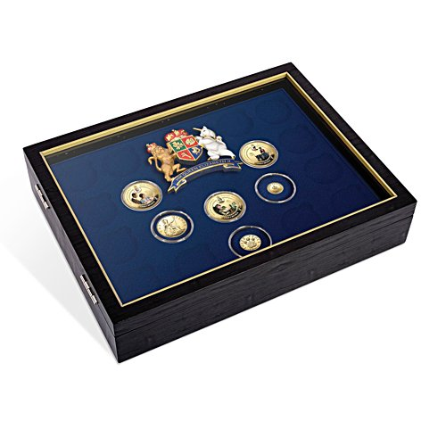 'Queen Elizabeth II 90th Birthday' Coin Collection Presentation Case