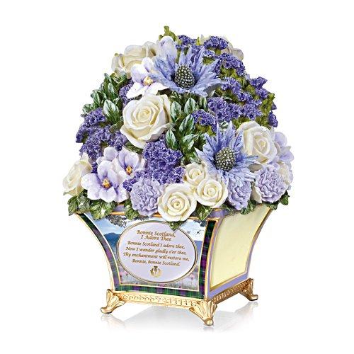'Bonnie Scotland' Highland Sculptural Bouquet
