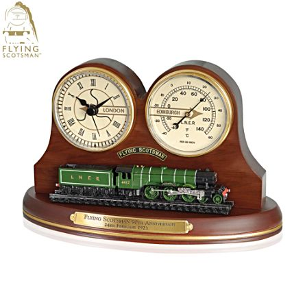 'Official Flying Scotsman' Masterpiece Clock