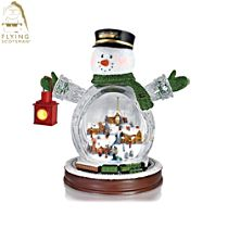 Flying Scotsman 'Christmas Express' Snowman