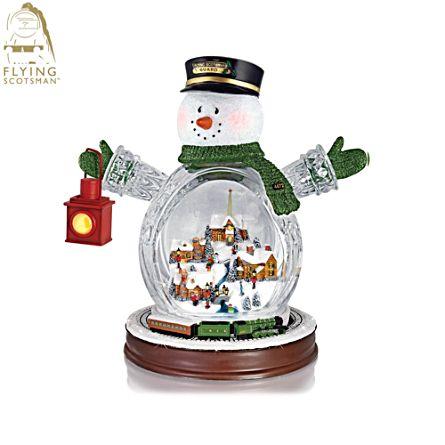 Flying Scotsman 'Christmas Express' Snowman