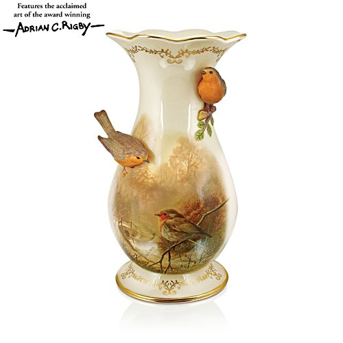 'Treasure Of Nature' Robin Vase
